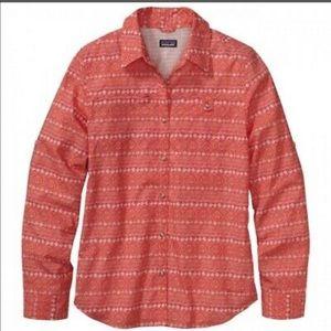 Patagonia Womens Island Hopper ll Button Up Shirt